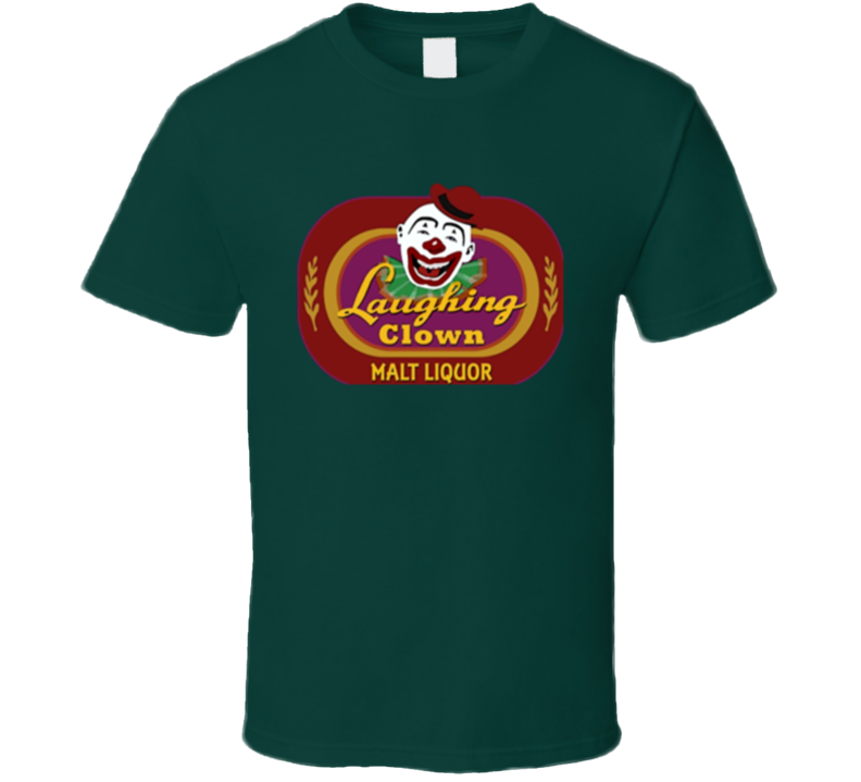 Laughing Clown Forest Green T Shirt
