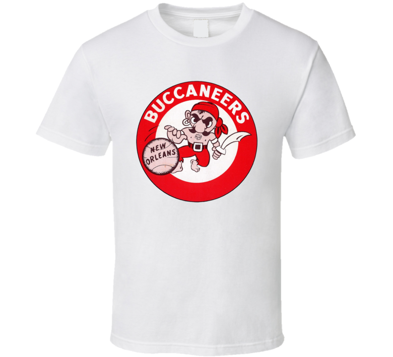 New Orleans Buccaneers Retro Aba Basketball T Shirt