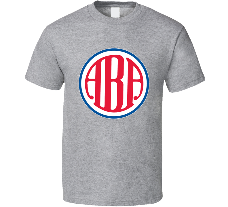 American Basketball Association Aba Retro Logo T Shirt