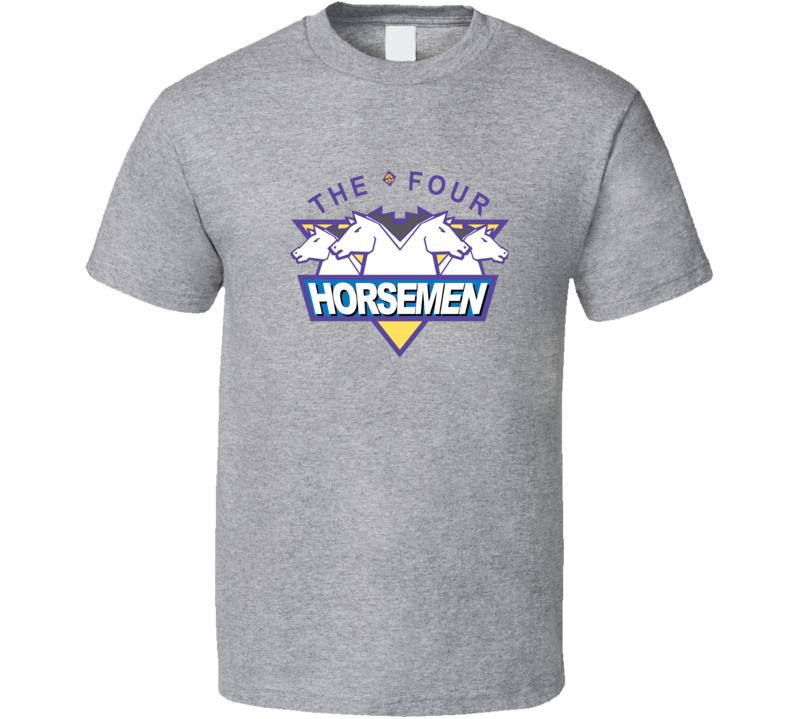 The Four Horsemen Wcw Ric Flair Legends Wrestling T Shirt