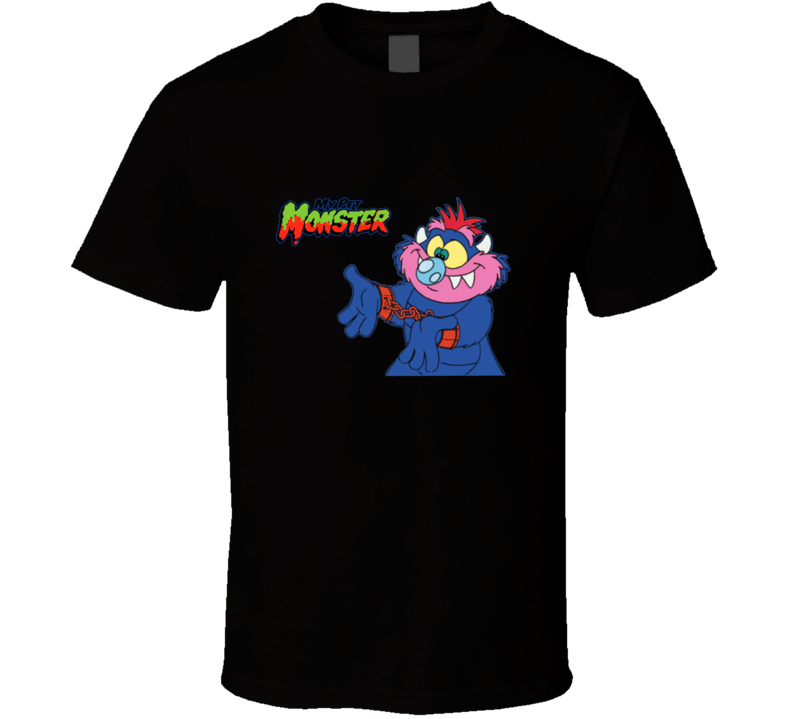My Pet Monster Classic Retro Cartoon T Shirt