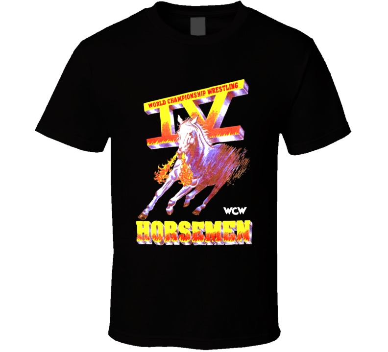 Wcw Four 4 Horsemen Ric Flair Wrestling Legends T Shirt