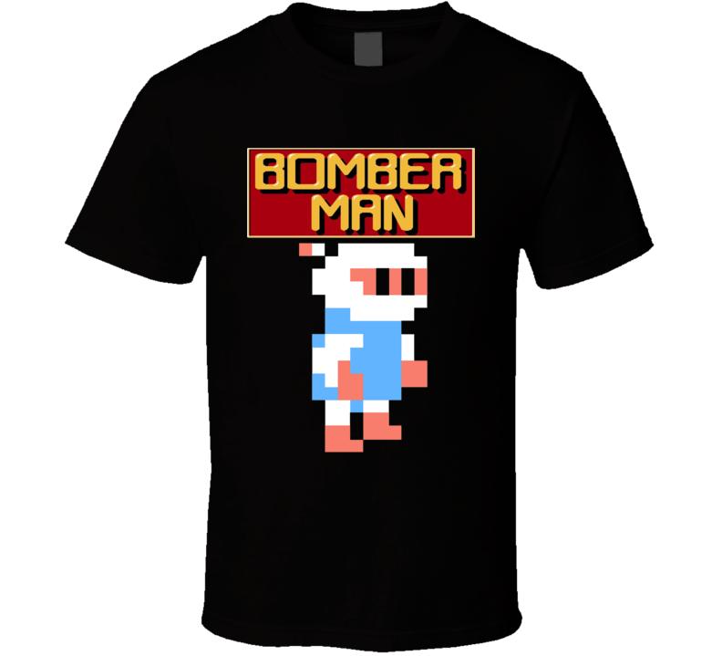 Bomberman Nes 8 Bit Retro Classic Video Game T Shirt
