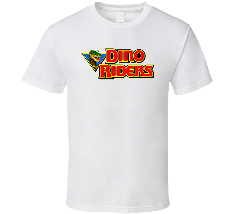 Dino Riders Retro 80's Cartoon T Shirt