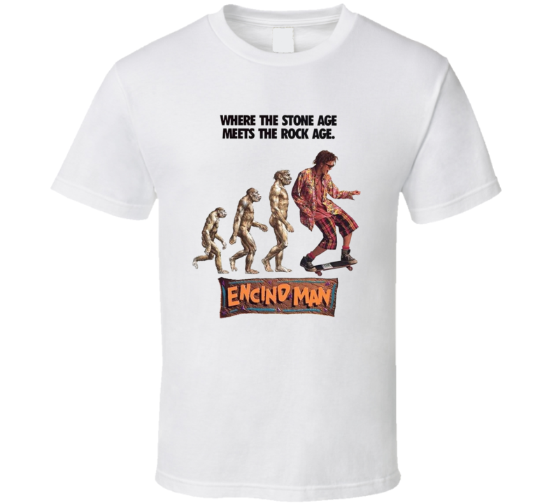 Encino Man Retro 90's Funny Movie T Shirt