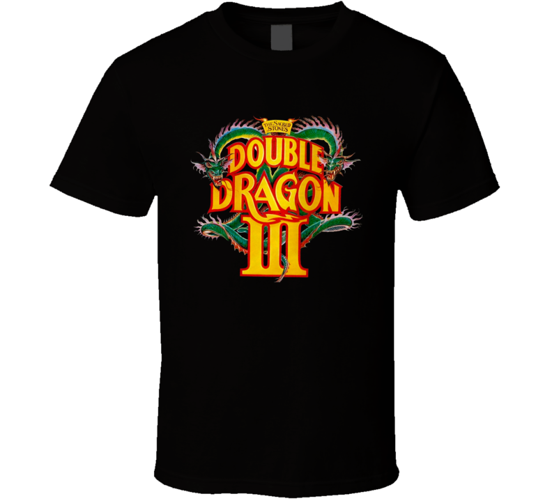 Double Dragon 3 Retro Video Game T Shirt