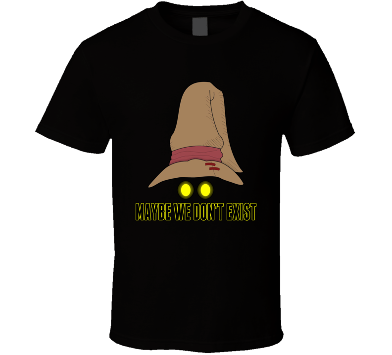 Black Mage Final Fantasy Nes Retro Video Game T Shirt