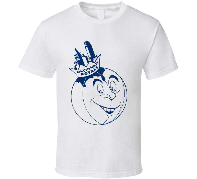 Cincinnati Royals Retro Basketball Old School T Shirt