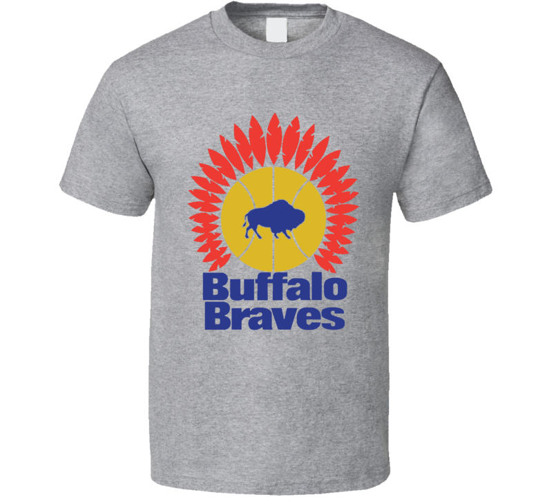Buffalo Braves Original Logo Basketball T Shirt