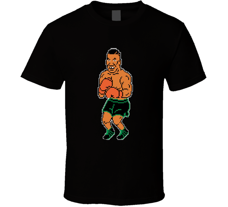Mike Tyson Punchout Boxing Video Game T Shirt