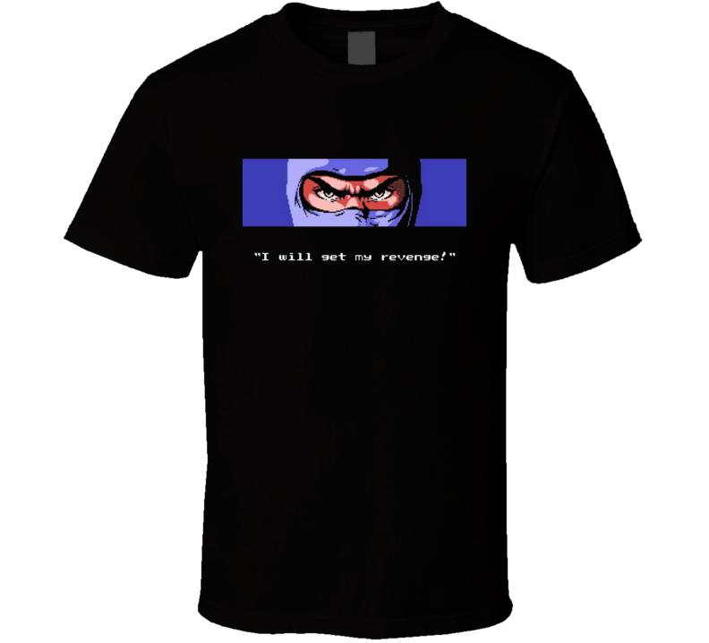 Ninja Gaiden Ryu Nes Video Game T Shirt
