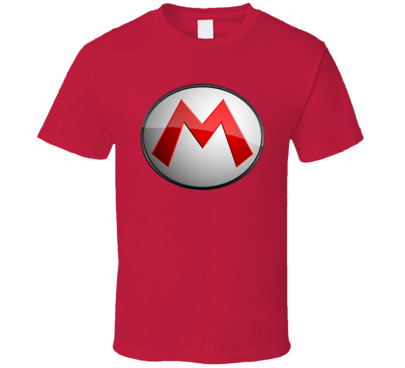 Mario Super Mario Logo Video Game T Shirt