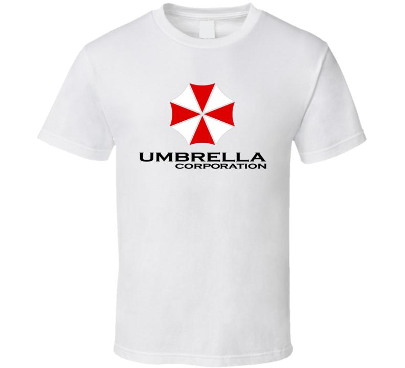 Umbrella Corporation Resident Evil Retro Movie T Shirt
