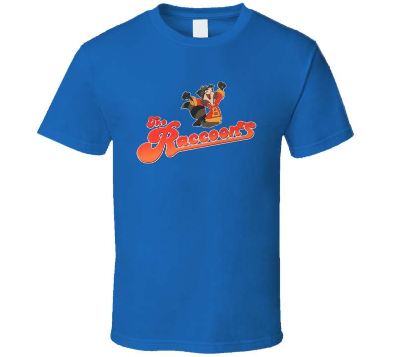 The Raccoons 80's Retro Cartoon T Shirt