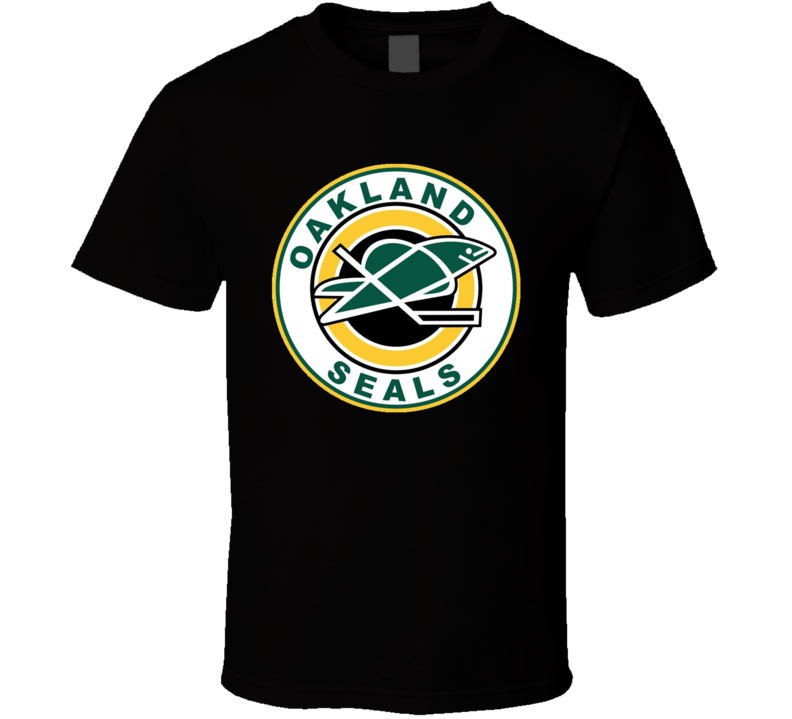 Oakland Seals Retro Old School Hockey T Shirt