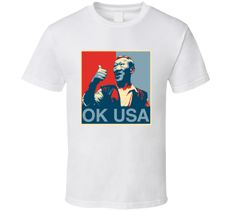 Ok Usa Bloodsport 80's Action Movie Hope Funny T Shirt