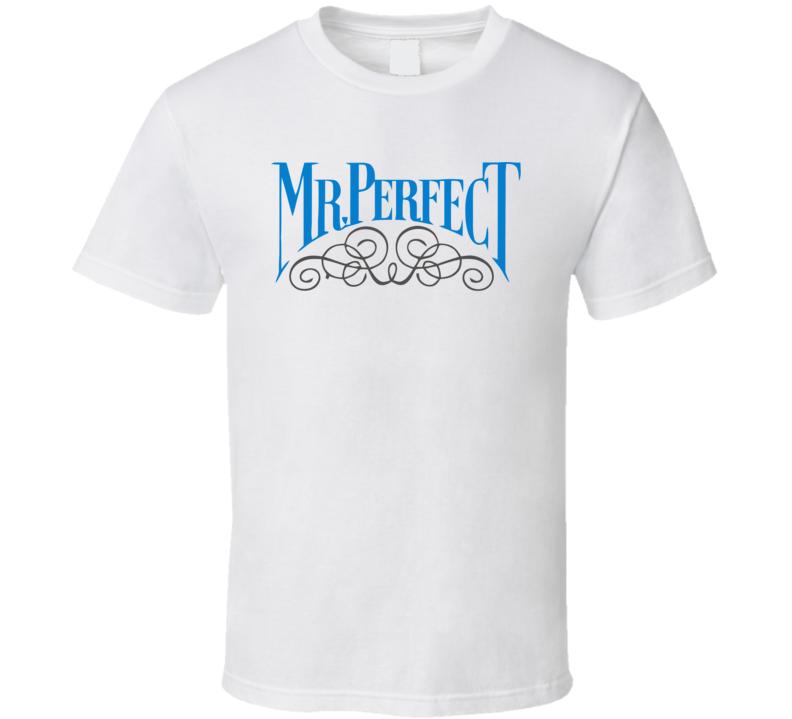 Mr Perfect Wrestling Legend Logo T Shirt