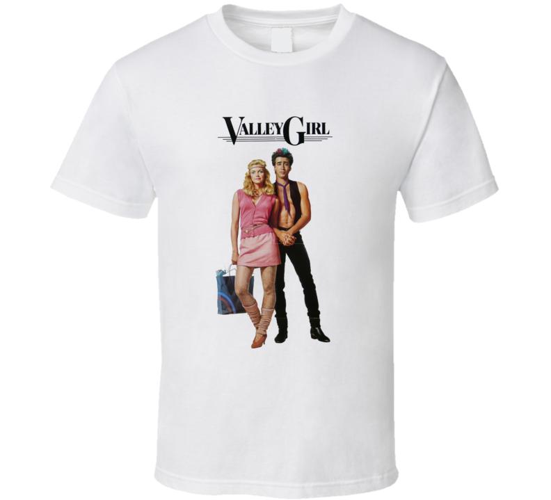 Valley Girl Retro 80's Movie T Shirt