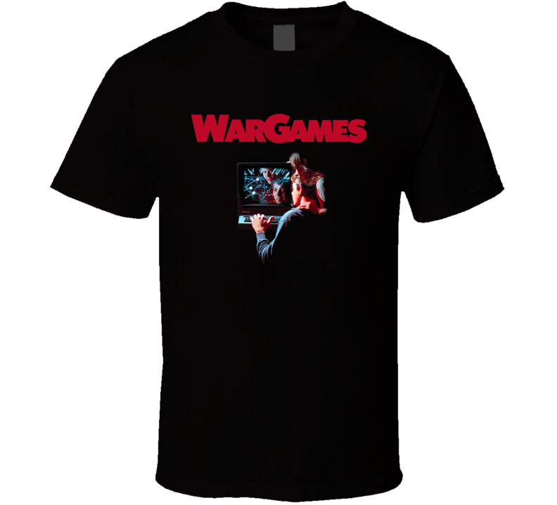 War Games Retro 80's Movie T Shirt