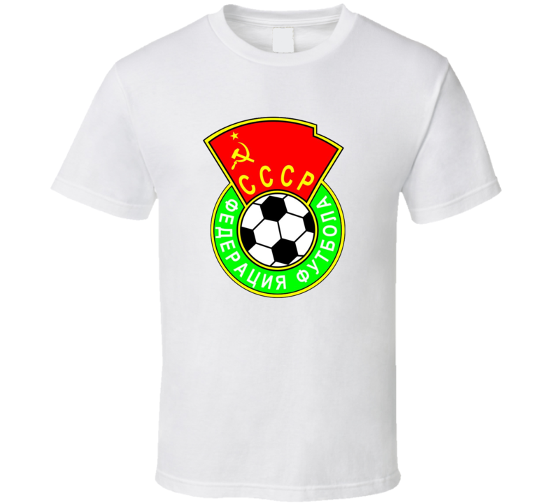 Ussr Cccp Russia Football Soccer Federation T Shirt