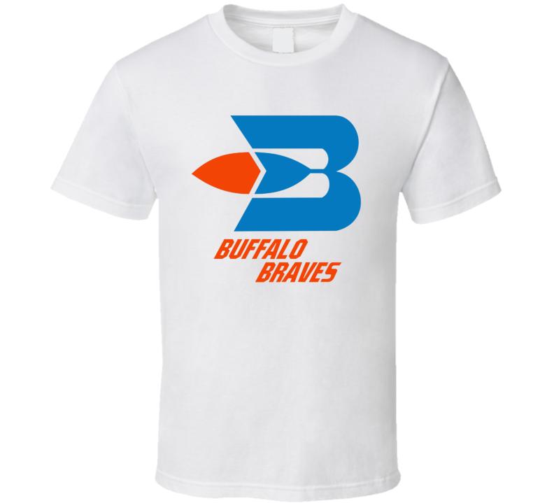 Buffalo Braves 70's Basketball Retro Team Logo T Shirt