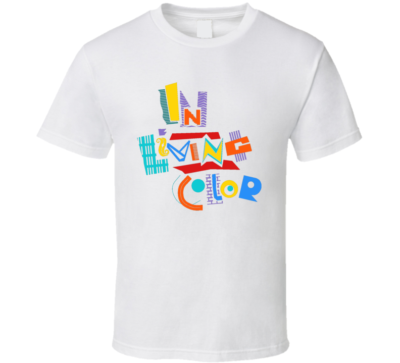 In Living Color 90's Funny Tv Show Retro T Shirt