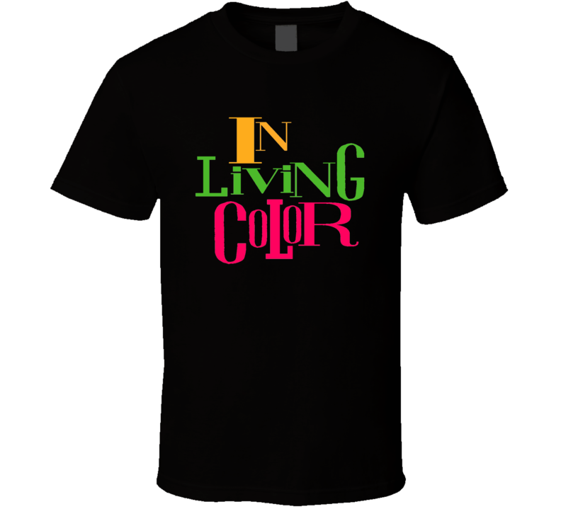 In Living Color Tv Show Logo Funny T Shirt