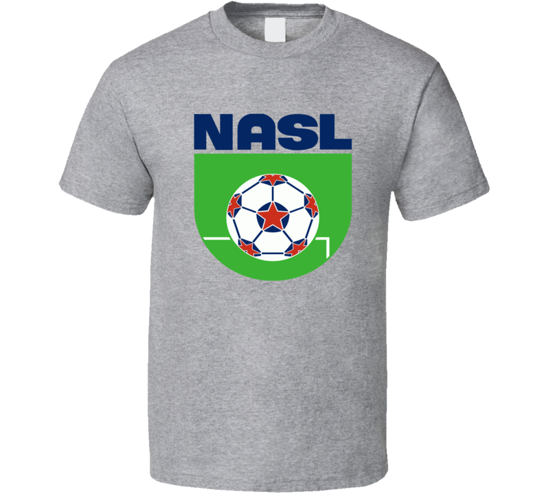 Nasl Soccer League Logo T Shirt