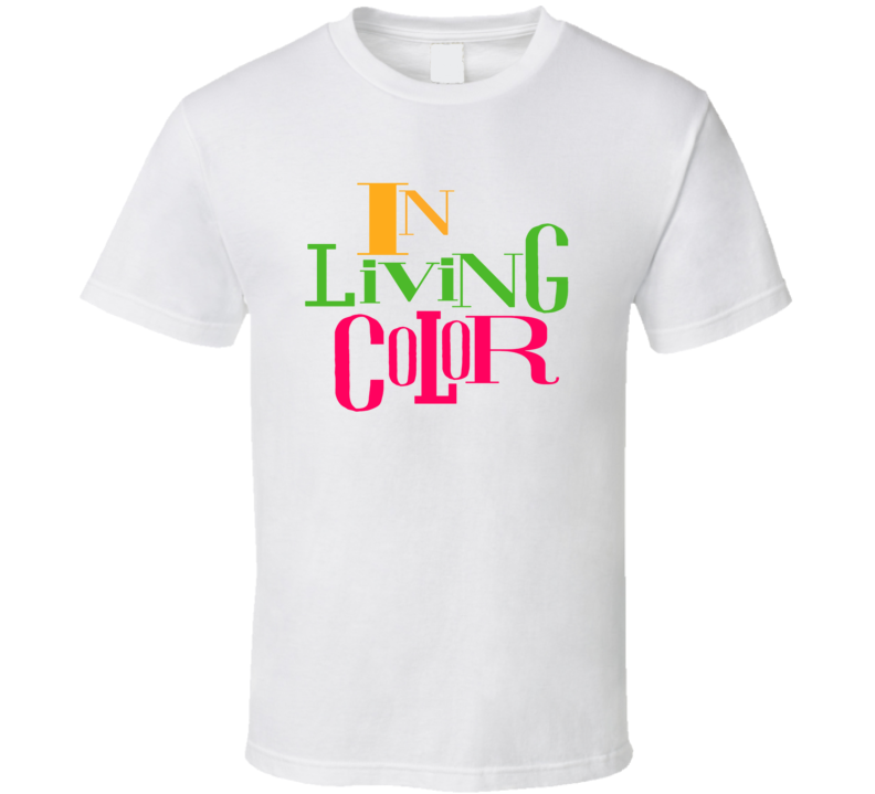 In Living Color Retro Funny Tv Show 90's T Shirt
