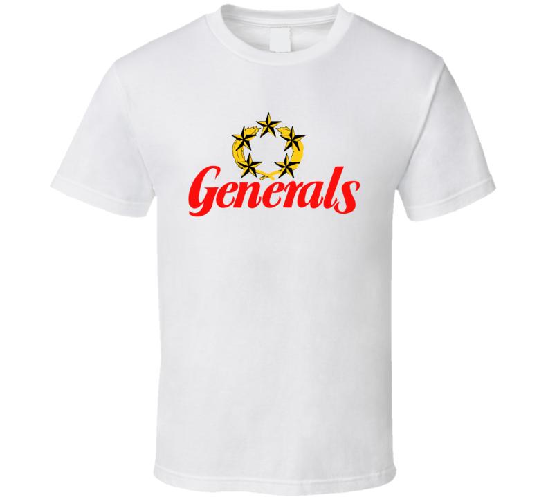 New Jersey Generals Usfl Retro 80's Football T Shirt