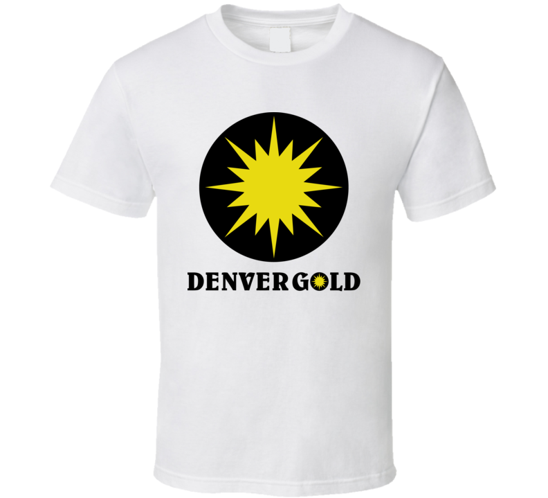 Denver Gold Usfl Retro 80's Football T Shirt