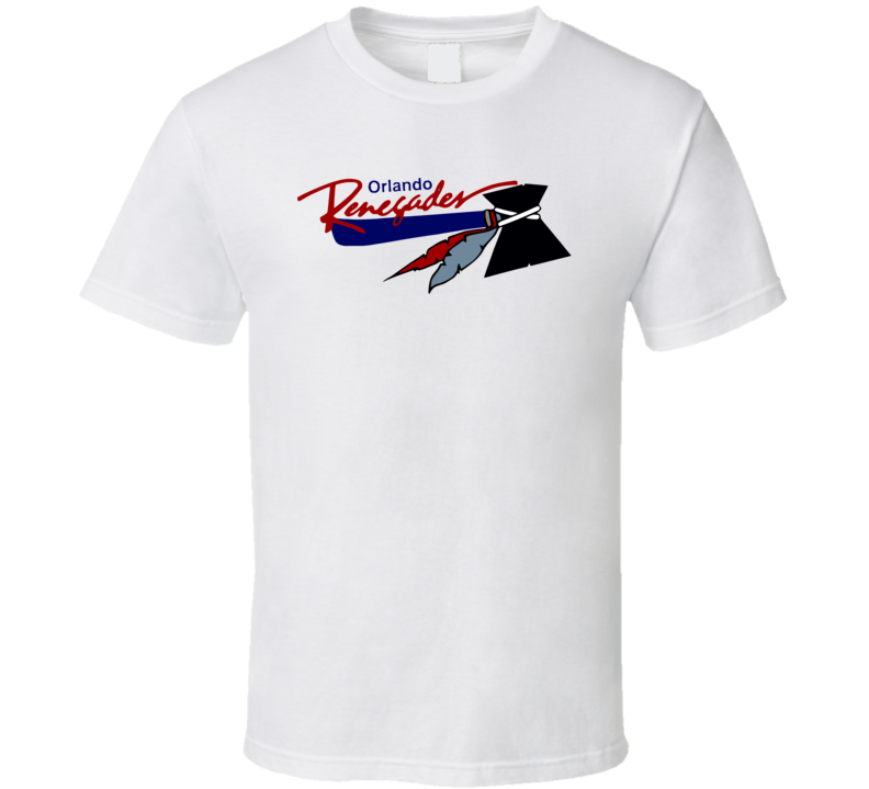 Orlando Renegades Usfl Retro 80's Football T Shirt