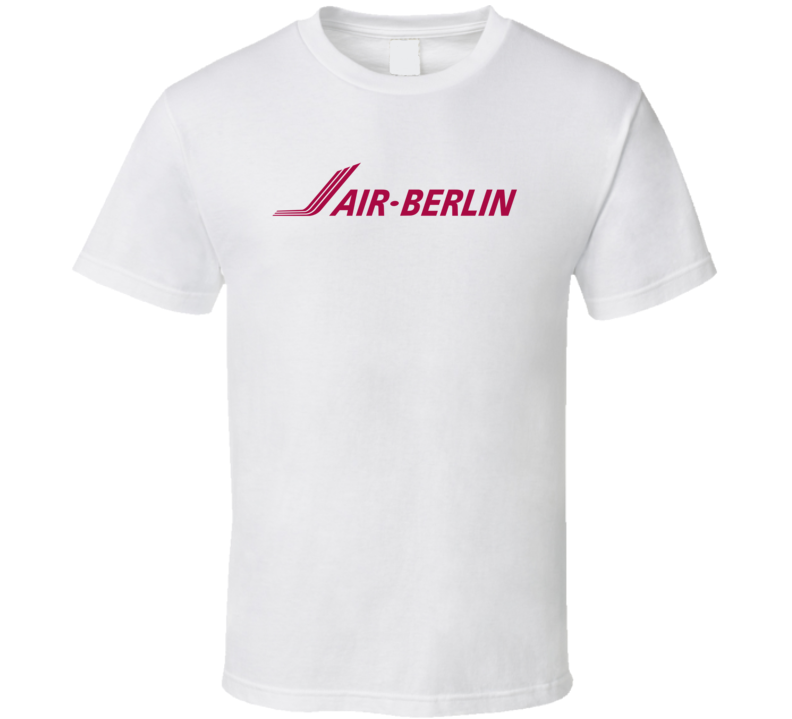 Air Berlin Retro Defunct Airline T Shirt