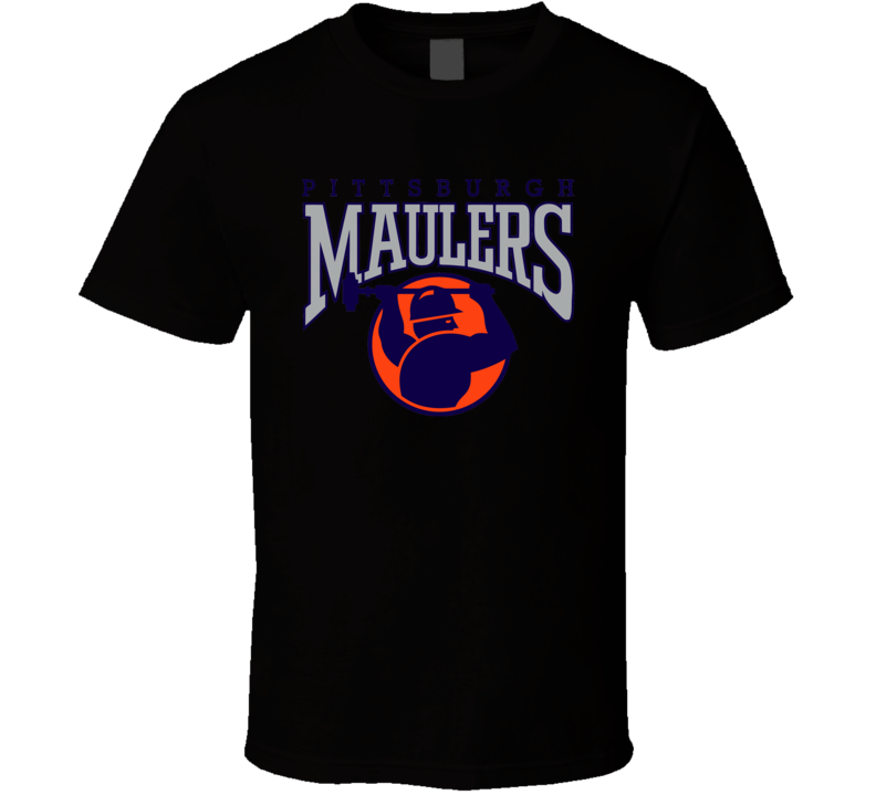 Pittsburgh Maulers Usfl Retro 80's Football T Shirt