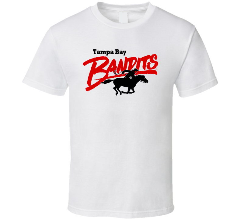 Tampa Bay Bandits Usfl Retro 80's Football T Shirt