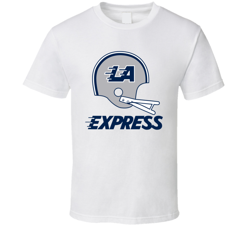 Los Angeles  La Express Usfl Retro 80's Football T Shirt