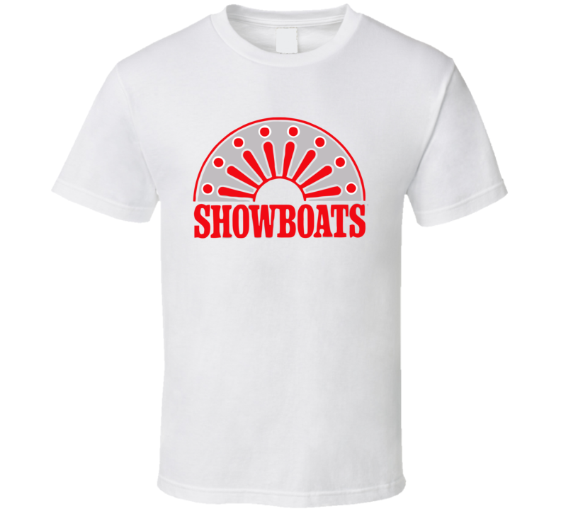 Memphis Showboats Usfl Retro 80's Football T Shirt