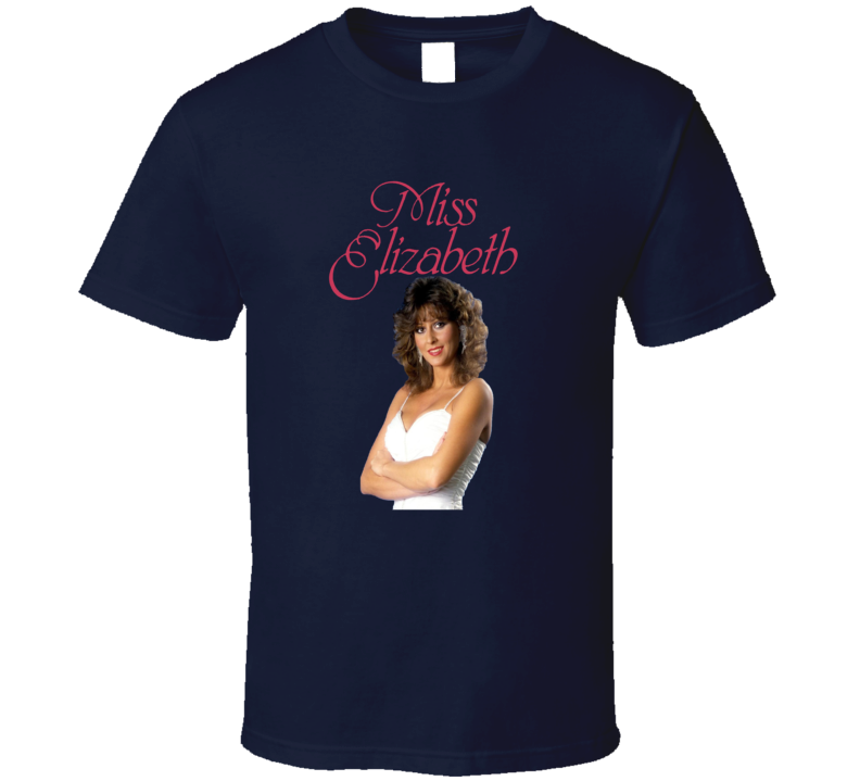 Miss Elizabeth Retro Wrestling Legend T Shirt