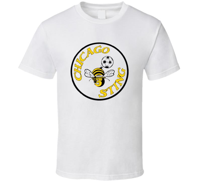 Chicago Sting Nasl Retro 80's Soccer T Shirt