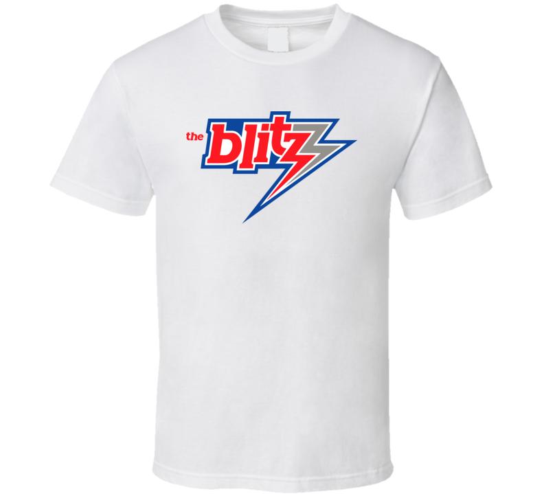 Chicago Blitz Retro Usfl 80's Football T Shirt