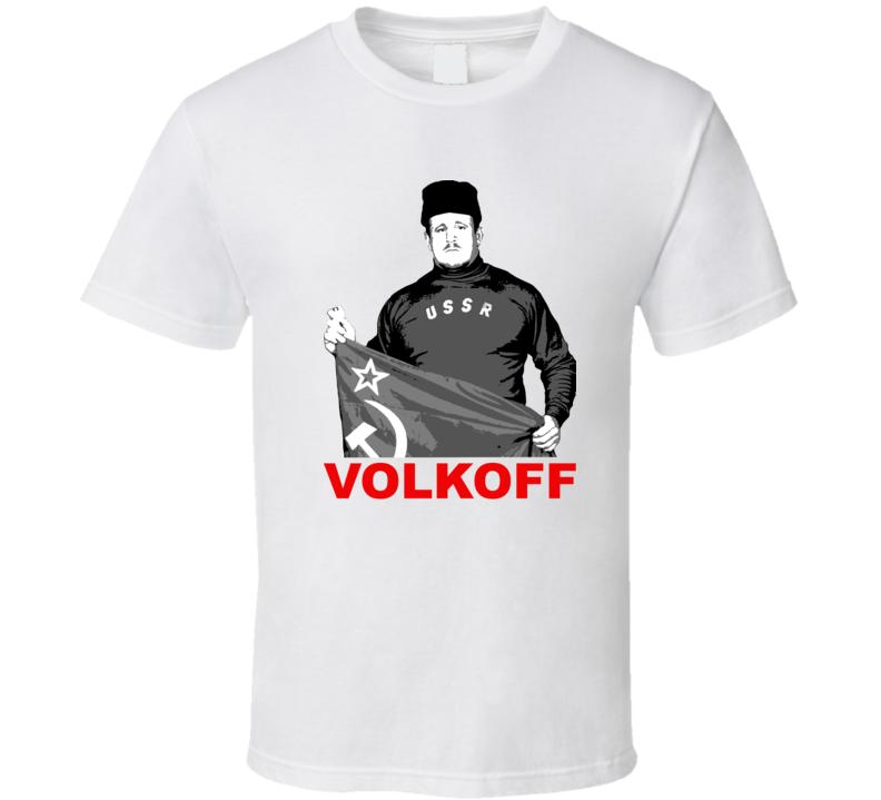 Nikolai Volkoff Retro 80's Wrestling Legend T Shirt
