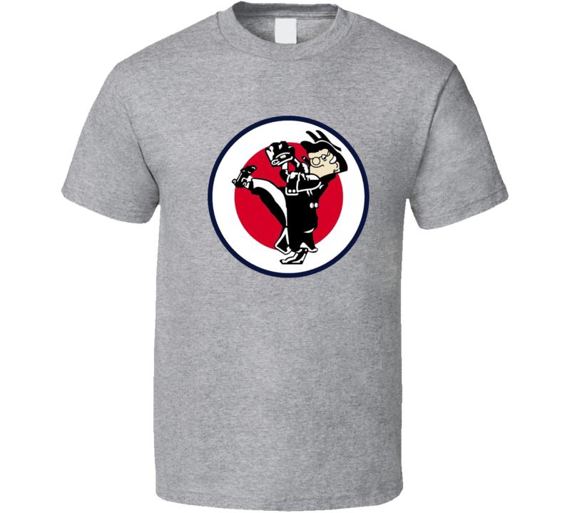 Washington Senators Retro Mascot Baseball Tshirt
