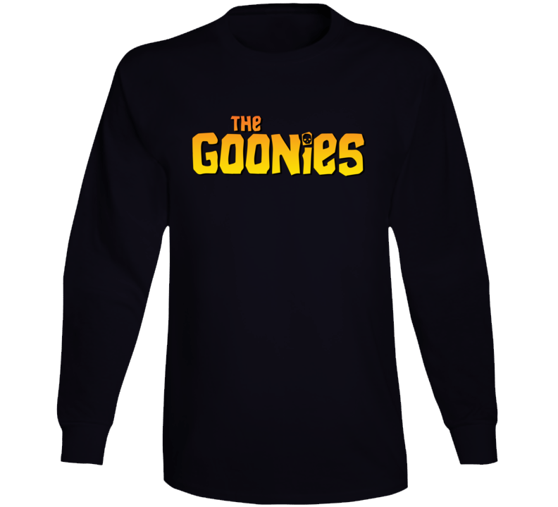 The Goonies Classic Kids 80's Movie Long Sleeve T Shirt