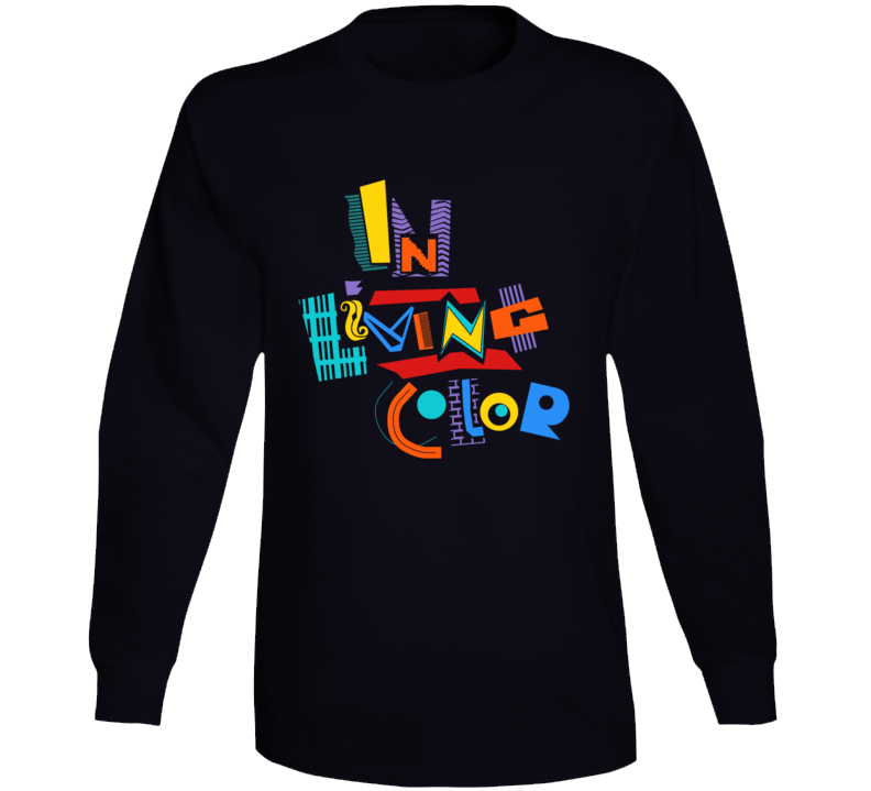 In Living Color Tv Show Retro 90's Long Sleeve T Shirt