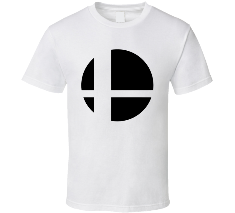 Super Smash Bros Logo Gaming Video Game T Shirt