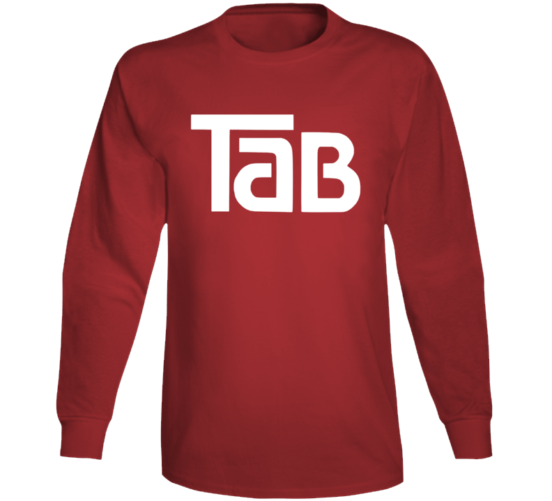 Tab Cola Retro Drink Soda Pop Long Sleeve T Shirt