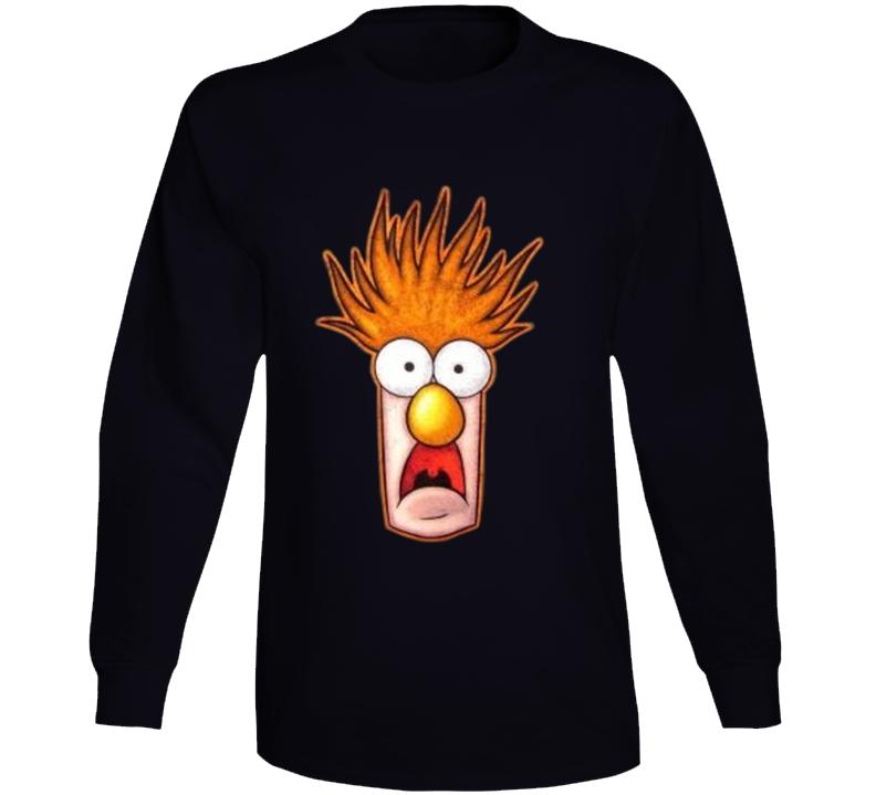 Beaker The Muppets Long Sleeve T Shirt