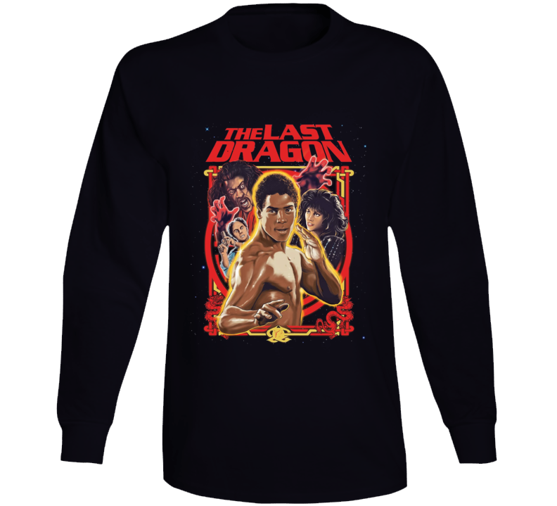The Last Dragon Retro Martial Arts 80's Movie Long Sleeve T Shirt