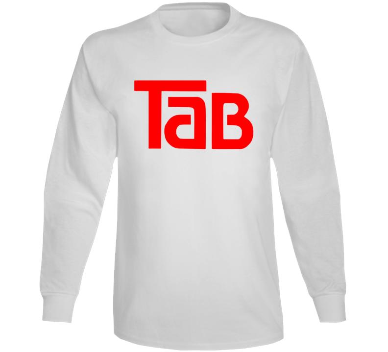 Tab Cola Retro Beverage Soda Pop Long Sleeve T Shirt