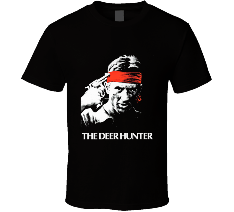 The Deer Hunter Robert De Niro Retro Movie T Shirt